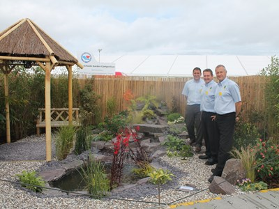 Staff and students won Gold for their entry at the Southport Flower Show in 2015.