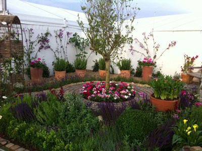 Our Gold Medal winning garden at Southport Flower Show